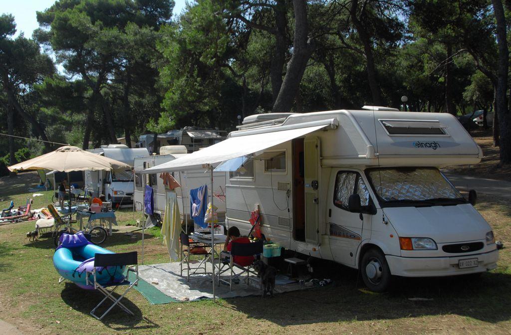 Camping Stoja Pula staanplaatsen