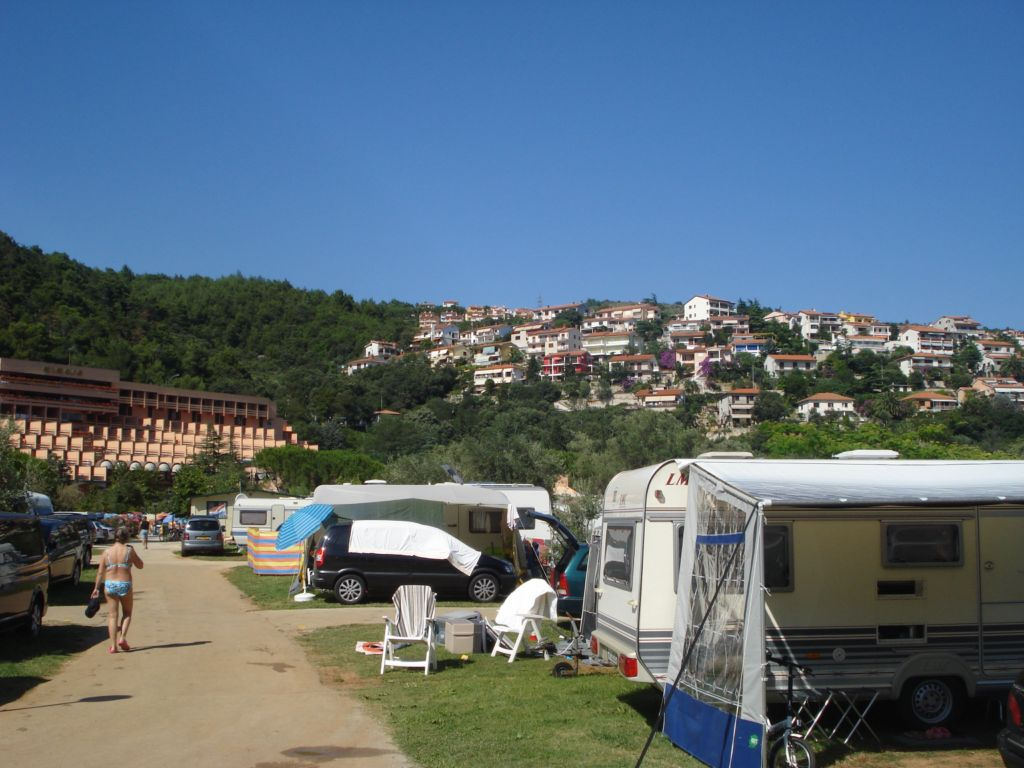 Camping Zelena Laguna in Porec