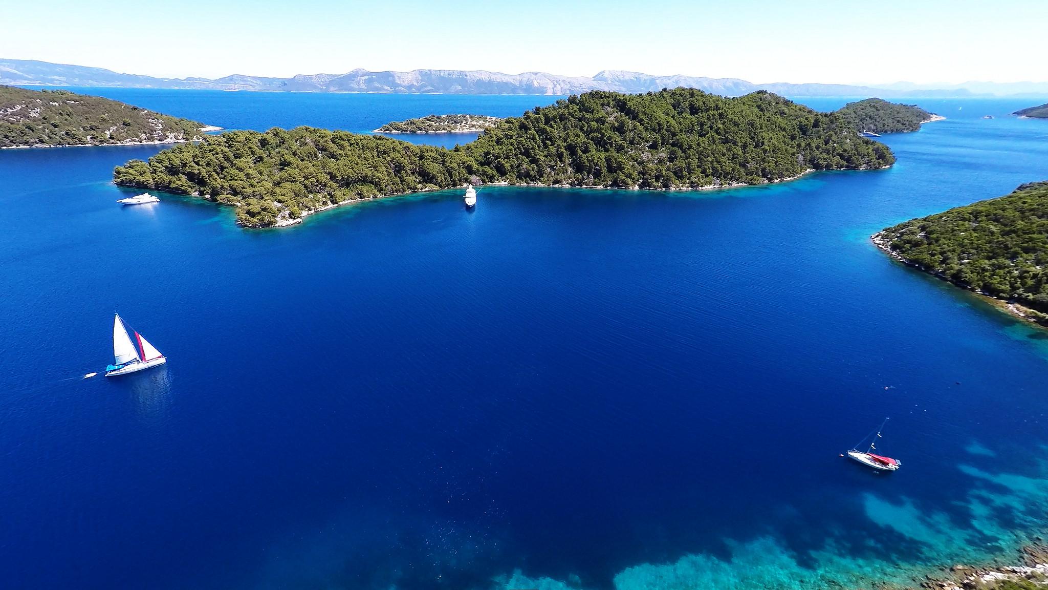 Mljet Kroatie
