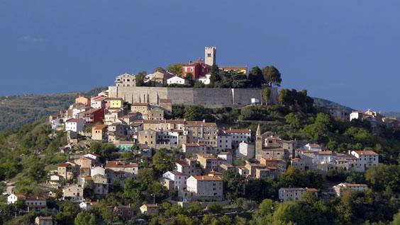 Motovun in Istrie