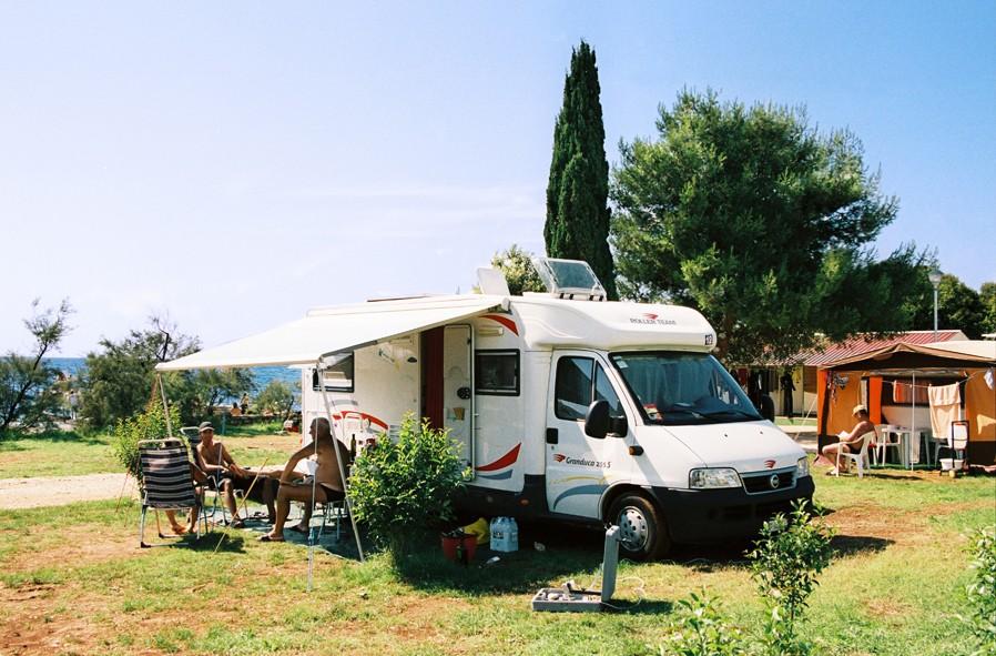 Staanplaatsen Camping Valdaliso Rovinj