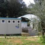 Toiletgebouw camping San Polo
