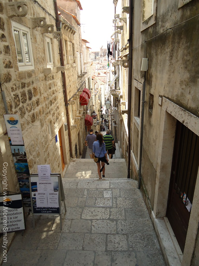 Steegje in Dubrovnik