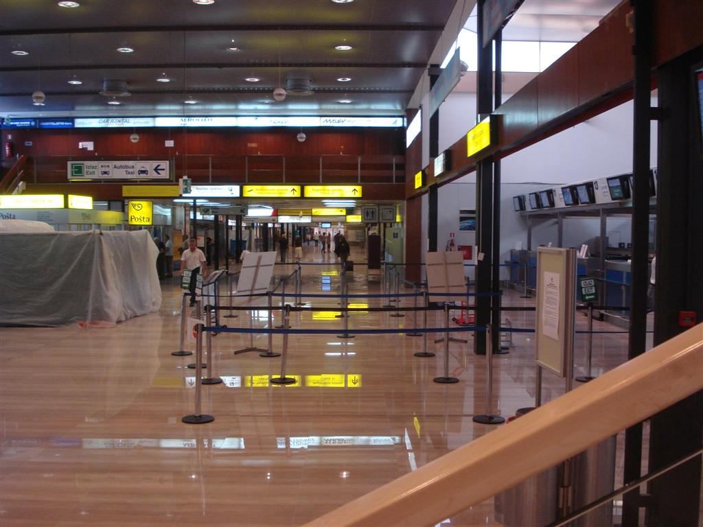 Vliegveld Zagreb Terminal