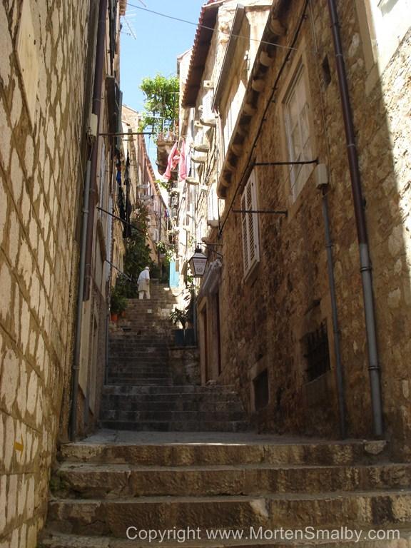 Dubrovnik's oude steegjes