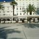 Terrasjes op de boulevard in Split