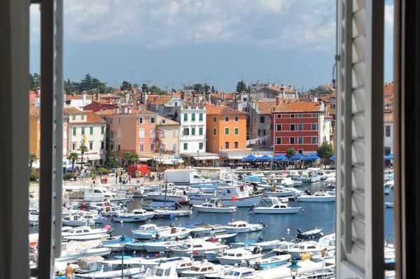 Hotel Adriatic uitzicht vanaf hotelkamer