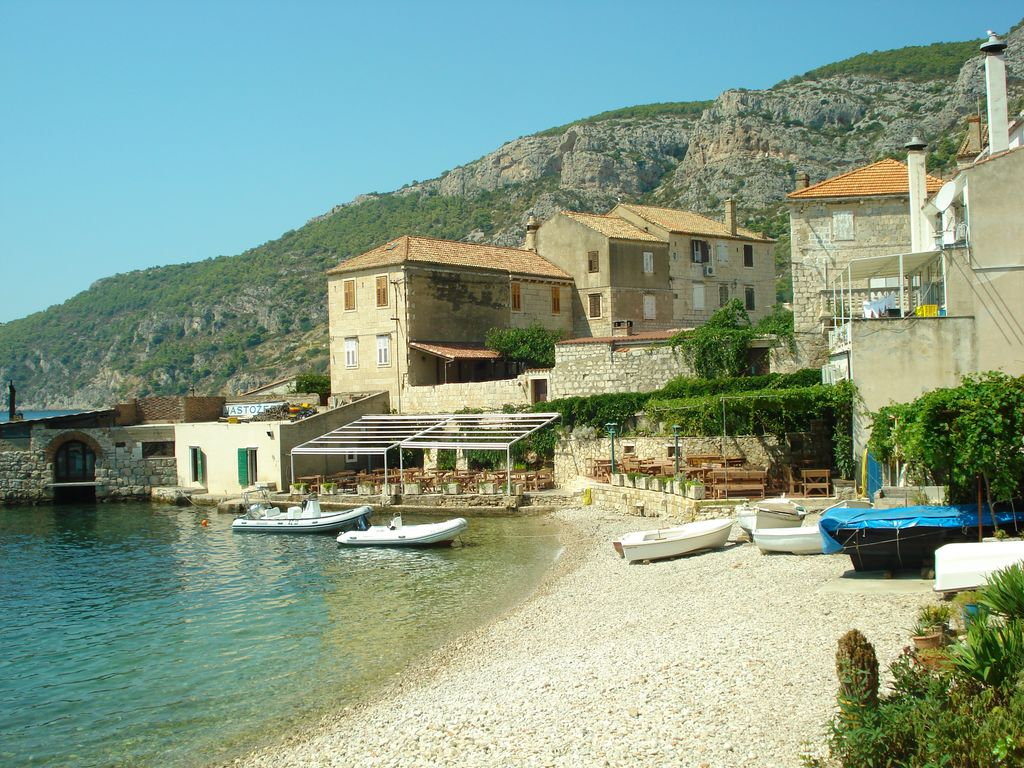 Komiza on Vis Island