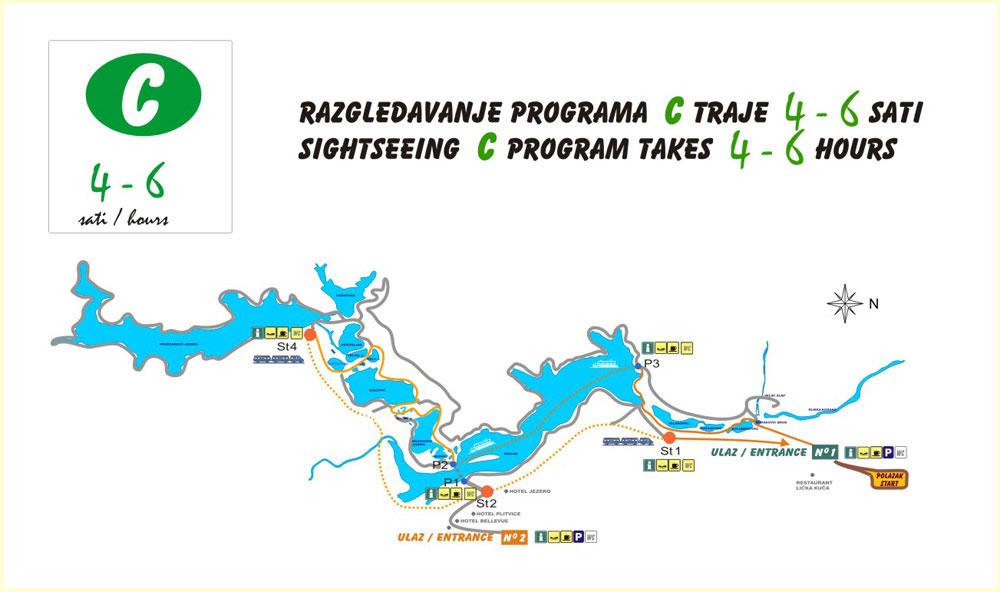 Plitvice route C