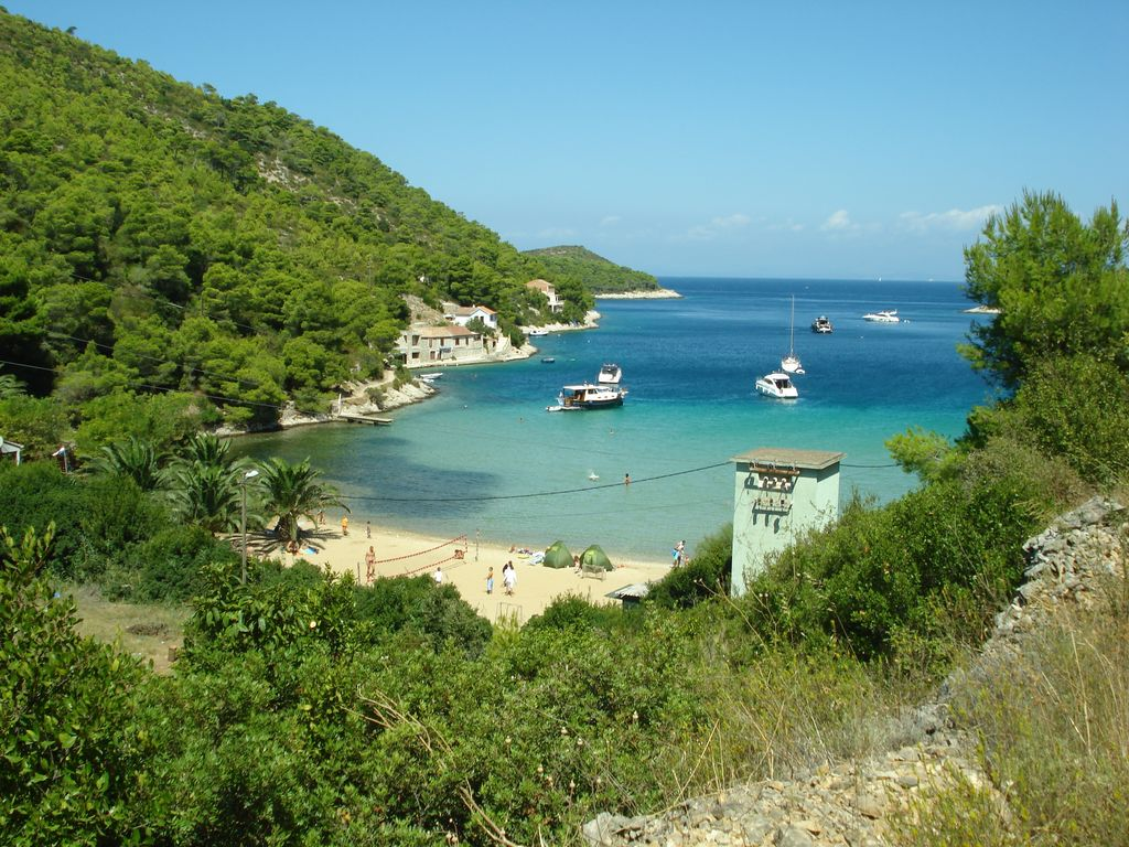 Stoncica beach on Vis