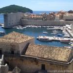 uitzicht over Dubrovnik Kroatië
