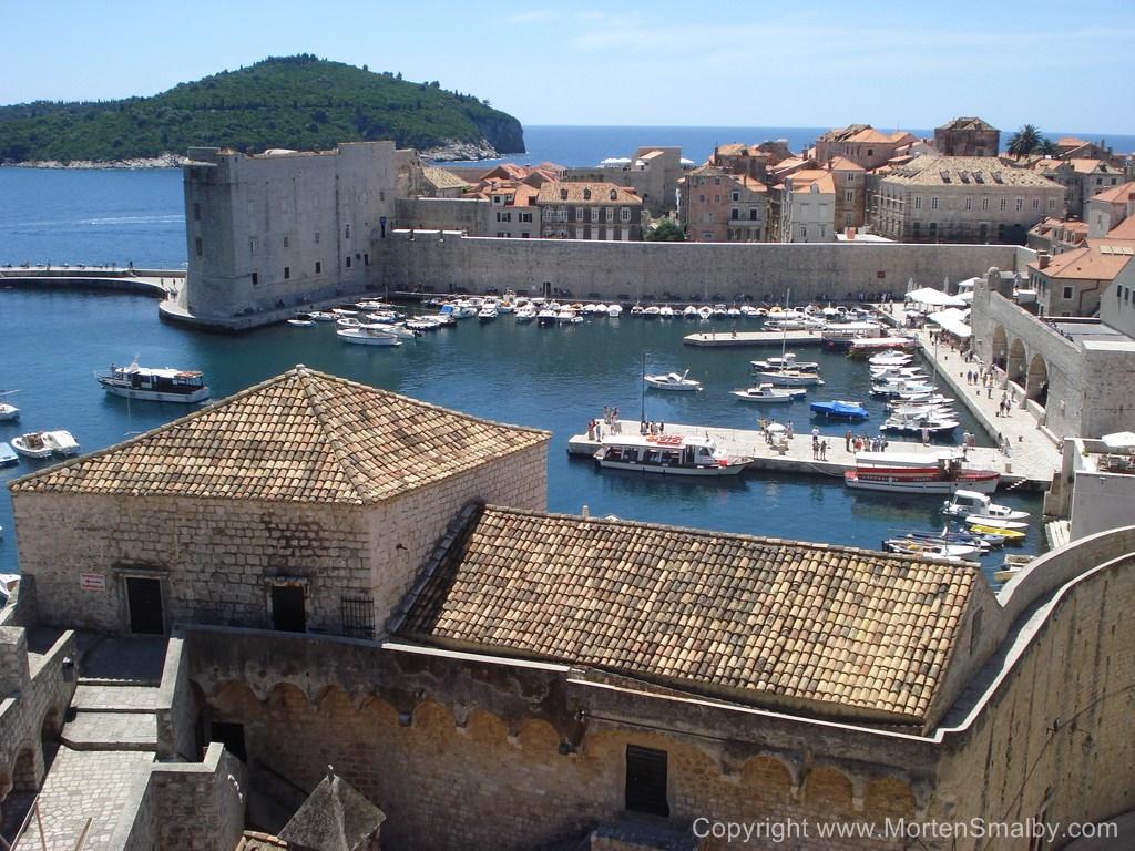 Uitzicht over Dubrovnik