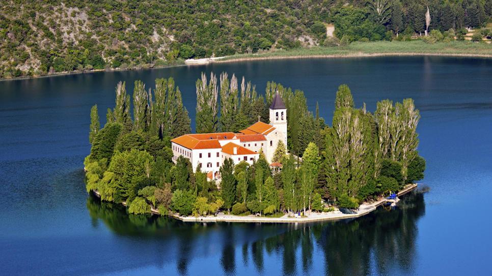 Visovac eilandje