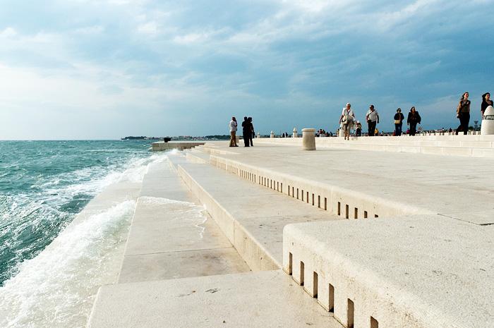 Zee-orgel in Zadar