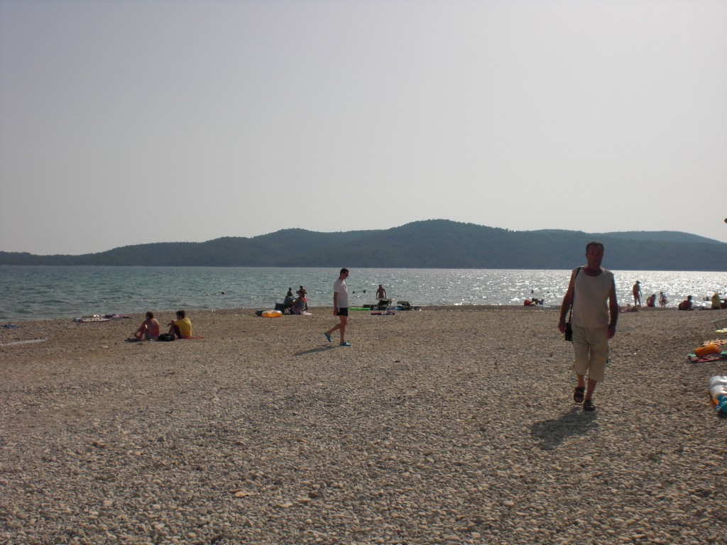 Strand van resort Solaris