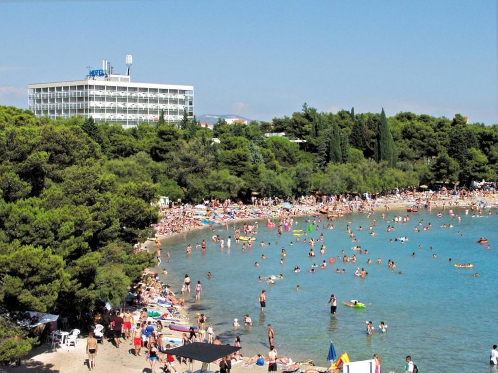 Hotel Imperial Vodice aan het Plava strand
