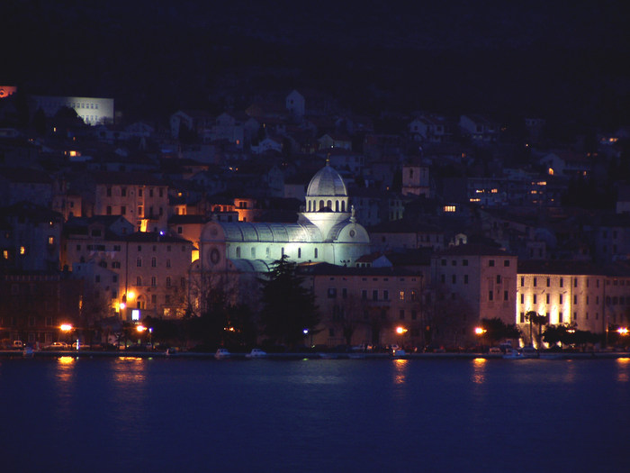 Sibenik by night