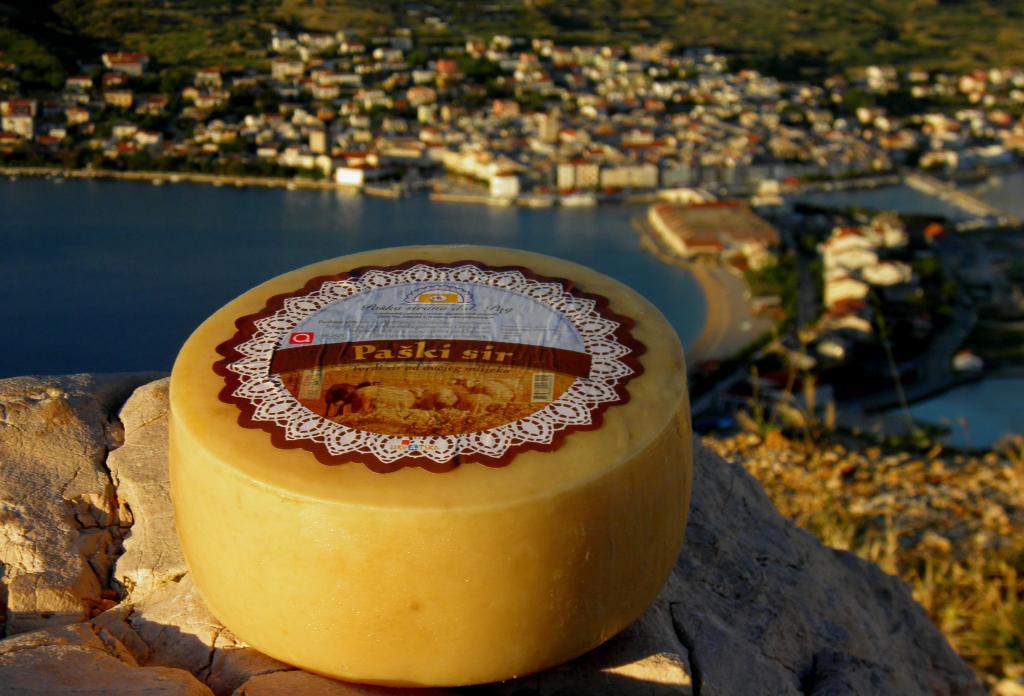 Kaas van het eiland Pag