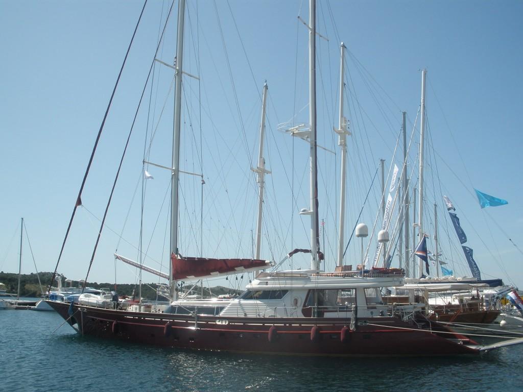 Prachtige boten op de Adriatic Boat Show in Sibenik