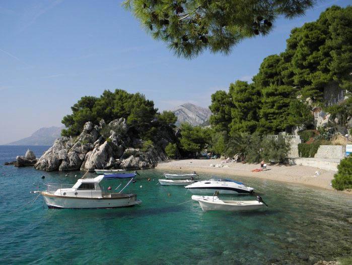 Brela Kroatie