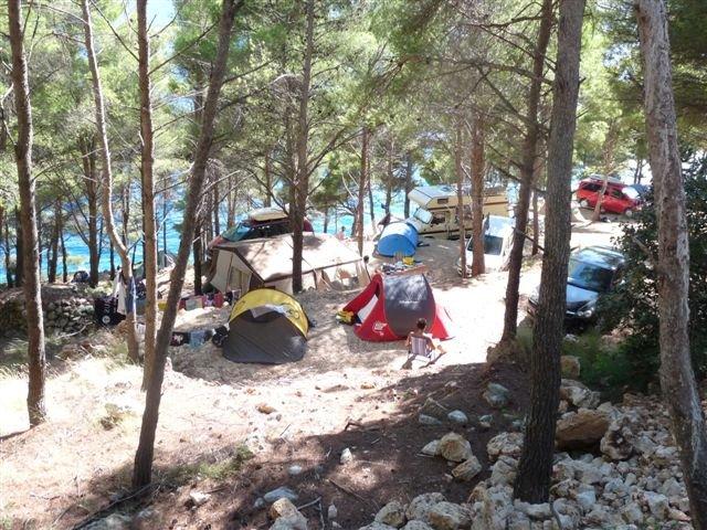 Camping Aloa eiland Brac