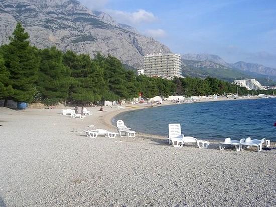 Makarska stranden