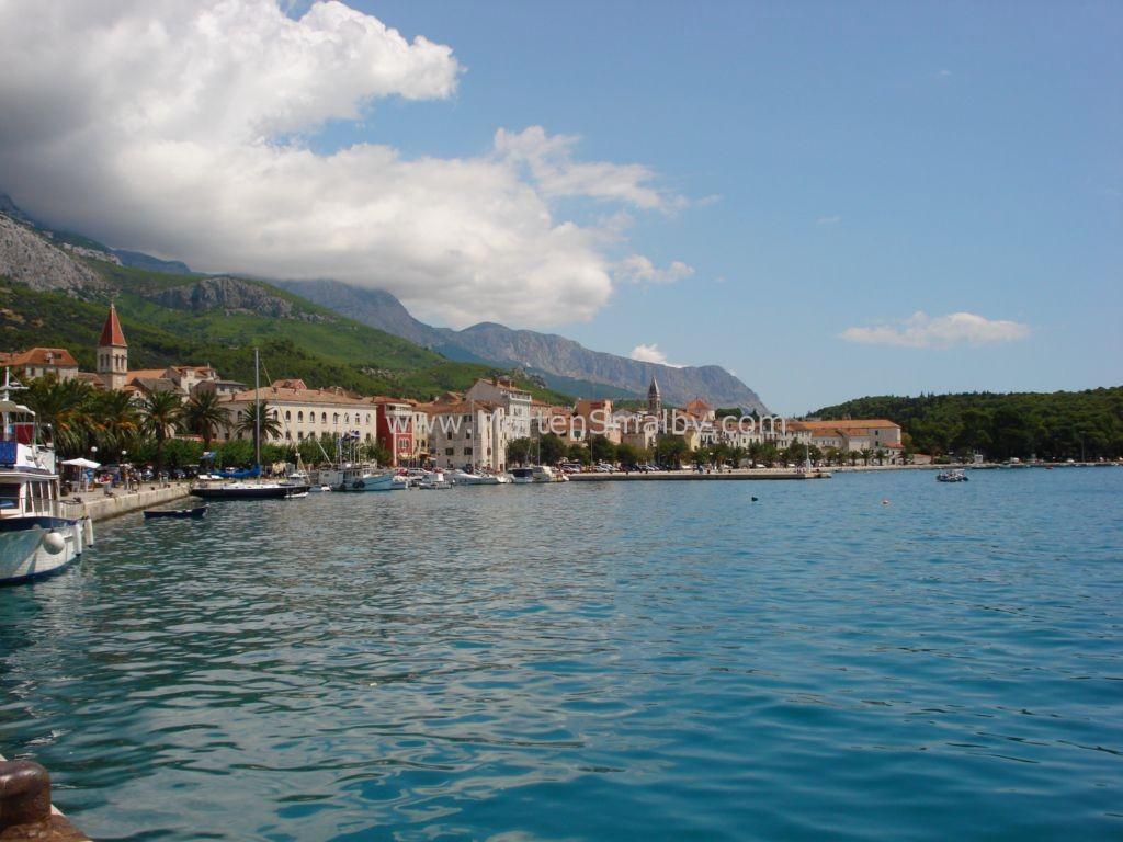 Makarska uitzicht