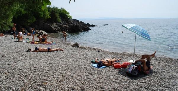 Beach camping Preluk Opatija