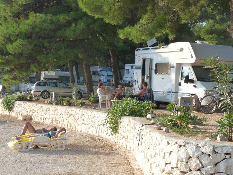Camping Rozac staanplaatsen