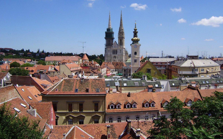 Zagreb - Kroatie