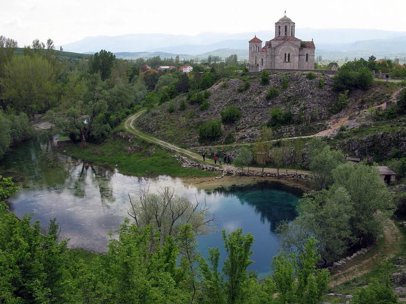 Bron van de Cetina rivier