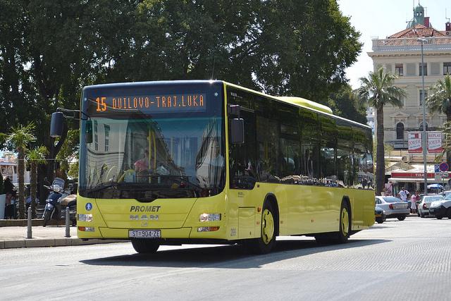 Bussen in Kroatie