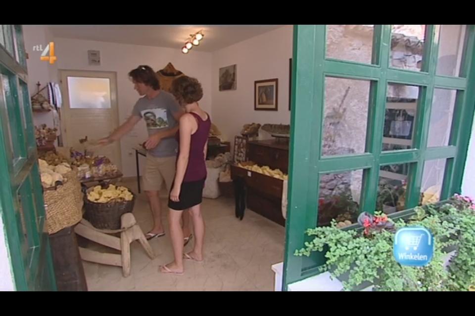 Campinglife Kroatie sponzenwinkeltje op Krapanj