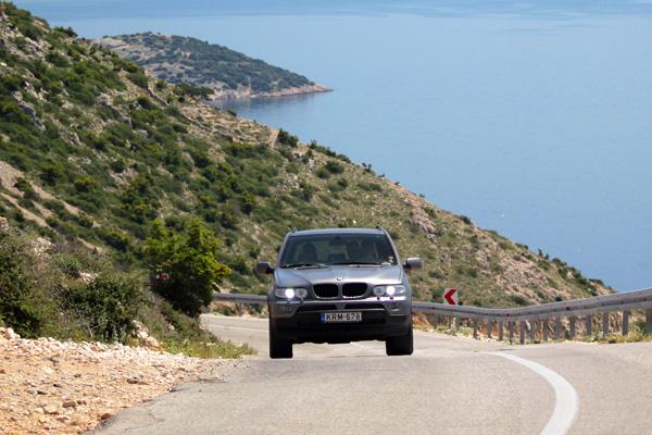 Auto rondreis Kroatie
