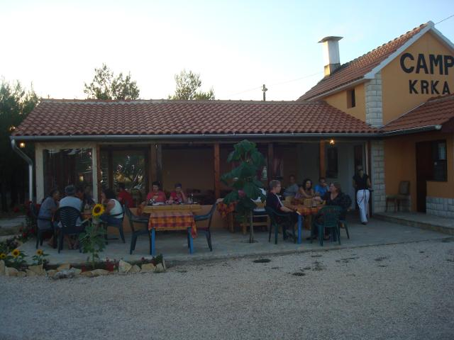 Camping Krka in Lozovac