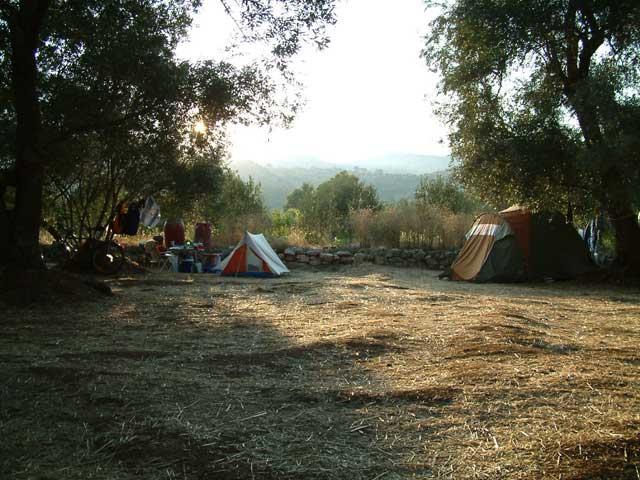 Camping Skriveni op eiland Lastovo