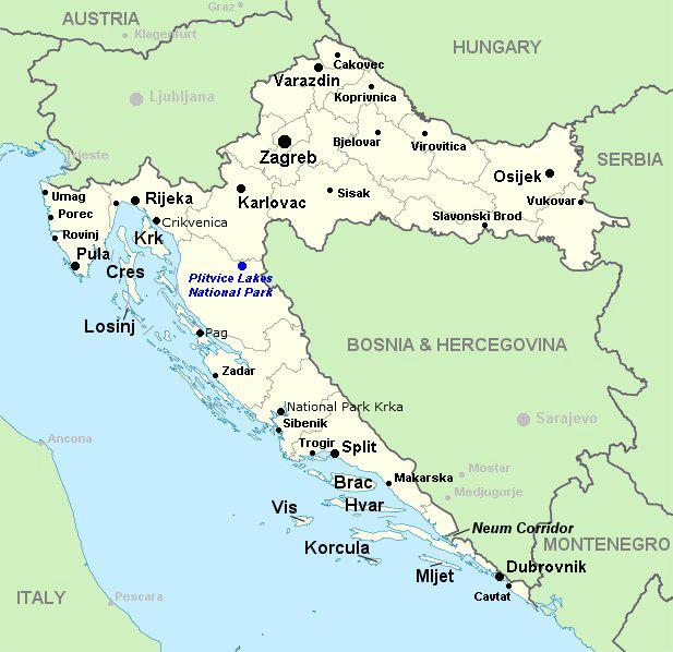 Kroatie In 15 Dagen Rondreis Kroatie Met De Auto