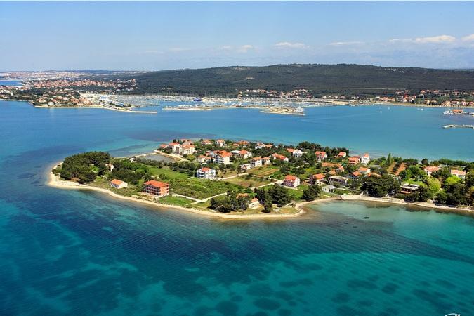 Sukosan in Dalmatie