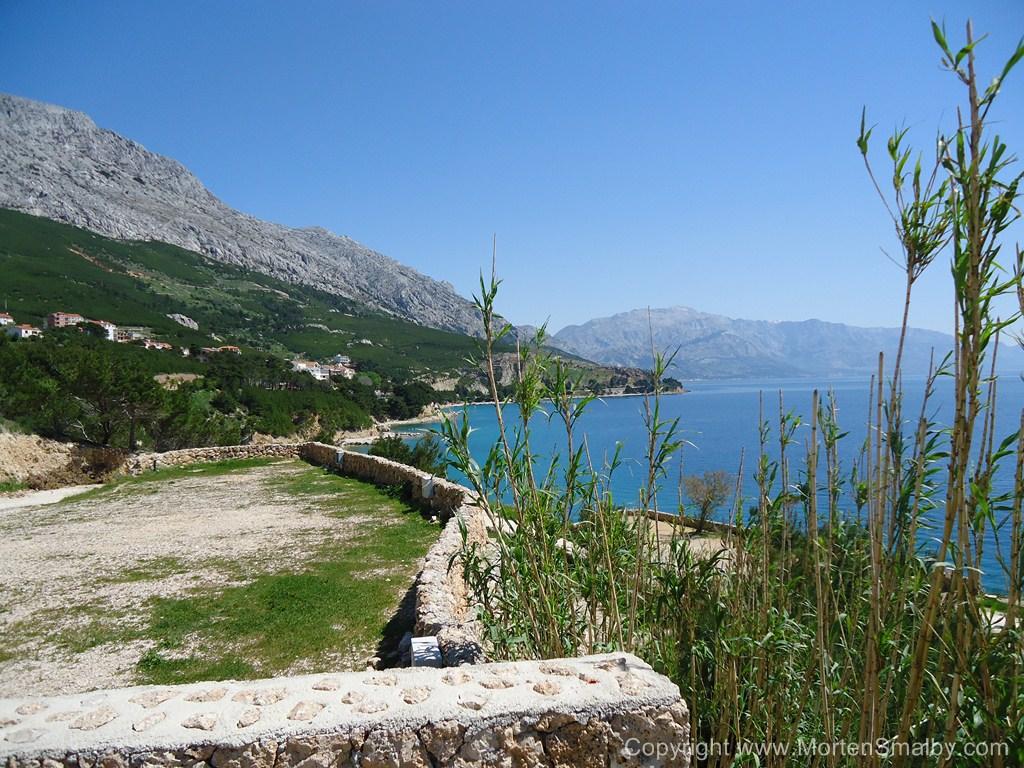 Uitzicht vanaf Camping Sirena Lokva Rogoznica