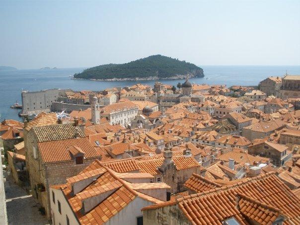 Dubrovnik en eiland Lokrum