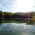 Een meer in N.P. Krka