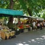 Kraampjes in Skradin