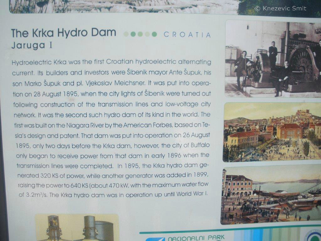 Krka hydro dam