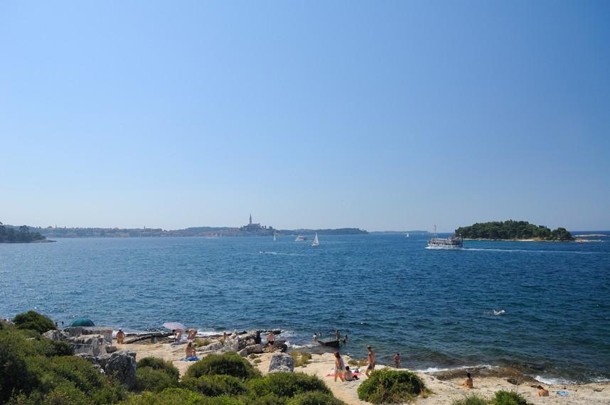 Valdaliso strand en uitzicht