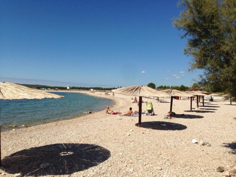 Brodarica strand Rezaliste