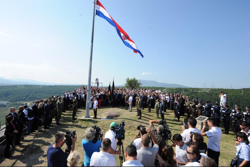 Kroatie dag van de overwinning