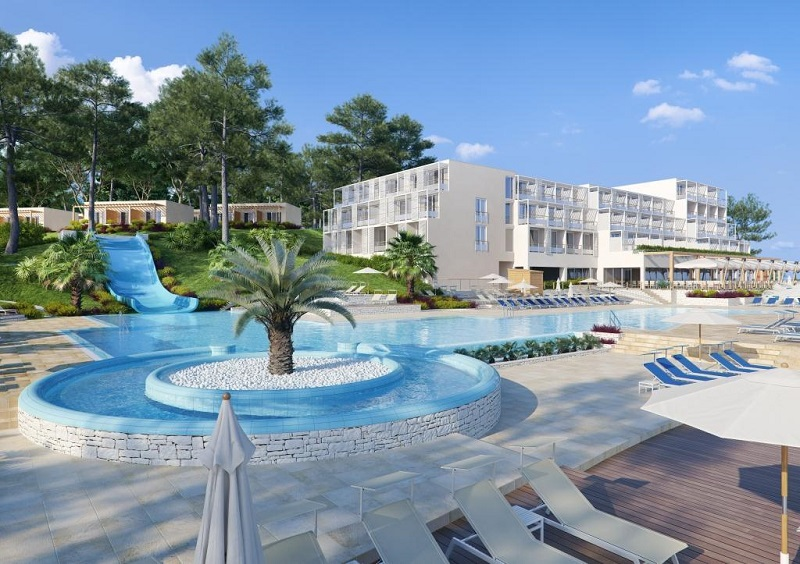 Valamar hotels eiland Nikola Porec