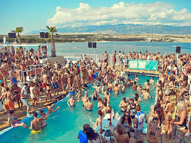 Hideout festival Kroatie