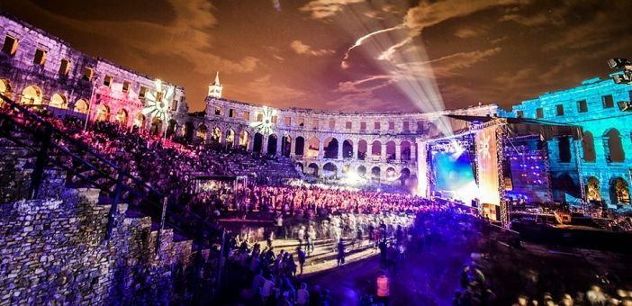 Outlook Festival in Pula, Kroatie