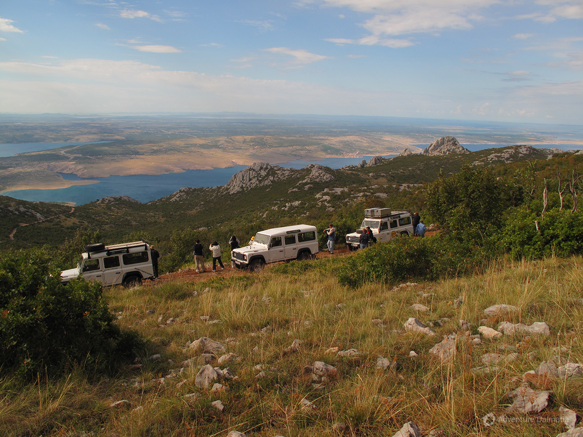Jeep Safari Velebit Kroatie